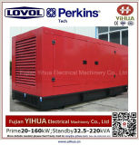 leiser Dieselgenerator 75kw/93.75kVA angeschalten von Lovol-Perkins Engine-20171012L