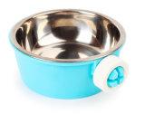 Hunging jaula de acero inoxidable de plástico PET Diner Bowl