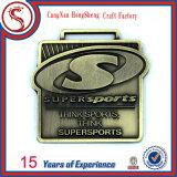 Подгонянное высоким качеством медаль спорта металла