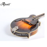 La calidad hecha a mano AAA de Afanti flameó la mandolina del arce F (AM-5000DL)