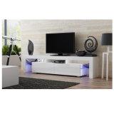 Moderner hölzerner LED-Fernsehapparat-Standplatz-Möbel-Entwurf
