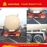 Camion all'ingrosso resistente del materiale della polvere del camion di serbatoio del cemento di HOWO 8X4