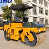 Ltma rodillo de camino vibratorio ensamblado hidráulico de 6 toneladas para la venta