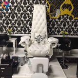 Cadeira de Pedicure da cadeira dos TERMAS do pé com a cadeira de Pedicure da bacia do pé nenhum encanamento