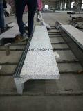 مستقيمة رماديّ صوان حجارة خطوة درجة مع شريط مانع للانزلاق