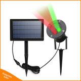 Напольный солнечный светильник ландшафта лазерного луча для рождества ярда сада