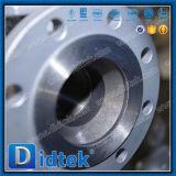 Нержавеющая сталь Class150 Didtek служила фланцем плавая шариковый клапан