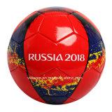 習慣によって印刷されるサイズ5の4トレーニングの革フットボール