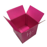 caja de cartón corrugado de impresión offset.