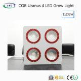 Ahorro de energía COB Urano 4 LEDS de luz para crecer frutas