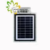 Heißes verkaufen5w alle in einem Solar-LED-Straßenlaternemit Fühler
