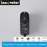 12V 1.5A 18W schließen Typen Energien-Adapter für Audio u. LED-Licht an