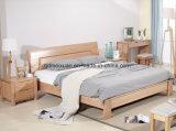 Кровати твердой деревянной кровати самомоднейшие двойные (M-X2277)