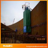 Machine automatique latérale simple de soudure continue de périmètre de réservoir pour que le bas complète la construction