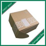 Cajas de cartón corrugado cajas de regalo de correo de pequeñas y medianas con tapa superior
