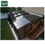 Pièce jointe neuve de patio de polycarbonate de modèle du bâti 2018 en aluminium imperméable à l'eau durable