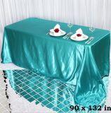 Tablecloth do retângulo do cetim da decoração de Event&Party&Hotel&Banqet&Home do casamento