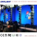 Visualización de LED de alquiler a todo color de interior y al aire libre P3.91 para la etapa