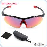 Óculos de sol unisex da bicicleta da estrada do ajuste confortável flexível Shatterproof do frame da lente UV400