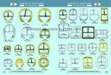 Inarcamento di Pin concentrare di figura rotonda degli accessori dell'indumento per i pattini