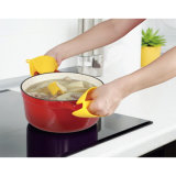 Силиконовый мини кухонные рукавицы перчатки термостойкий кухня водонепроницаемый барбекю руки перчатками
