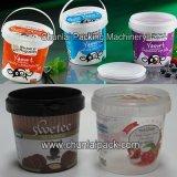 Verzegelende Machine van de Ton van de yoghurt de Plastic