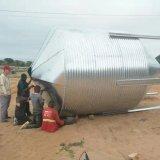 Подгонянное оборудование птицефермы с Prefab домом стальной структуры