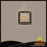 Lâmpada decorativa do pendente do restaurante do café do vintage do ferro (KAHD1362-8BL)