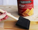 Variété Pack mousse manche en bois d'éponge Paint Brush définie