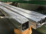 #320 Satin SUS304 Stainless Steel Square Tubes