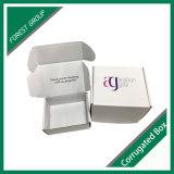 Caja de embalaje blanca Mabufacturers del papel acanalado