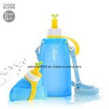 11oz Eco друзей силиконовый материал поездки детей бутылка воды