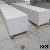 Panneau de paroi de douche blanc pur de l'acrylique Surface solide