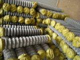 Enduit de PVC rouleau de filet de clôture de maillon de chaîne