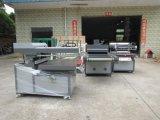 Serigrafía plana automática máquina con el secador UV
