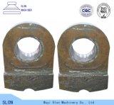 Alta pista de martillo de la trituradora del acero de manganeso del precio bajo para machacar la piedra