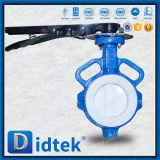Didtekの三倍の電気アクチュエーターを搭載するオフセットのラグナットの蝶弁