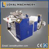 Trancheuse rembobineur pour le registre du rouleau de papier thermique