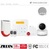 Maison de vente chaude alarme sans fil GSM avec pavé tactile