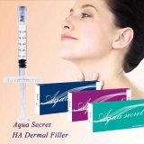 KNICKEN-Gebrauch-Einfüllstutzen-Hyaluronic Säure-Einspritzung der Schönheits-Cer ISO-Zustimmungs-1ml Anti