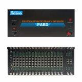 Nuevo sistema del PABX PBX del motel del hotel con el software Tp256-16160 de la factura