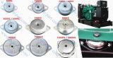発電機のゴム台紙の振動アイソレーターは1200kgを取付ける