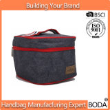 Подгонянный мешок охладителя обеда логоса изолированный холстиной нул градусов внутренний охлаждает (BDY-1711091)
