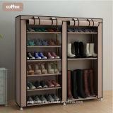 Armoire de racks de chaussures Chaussures de grande capacité de stockage de mobilier de maison DIY Rack simple chaussure Portable (FS-03D)