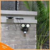 22 светодиодный индикатор солнечной энергии на пассивный инфракрасный датчик движения Rotable главы двух ламп для использования вне помещений крытый сад во дворе стены в центре внимания