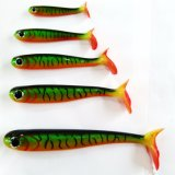 Cuerpo hueco Shad Soft Swimbait señuelo señuelos de pesca de Bass