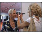 Augenhandschlitz-Lampen-Mikroskop, bewegliche Feinkohle-Lampe