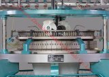 De alto rendimiento de textiles tejidos de punto circular de single jersey tricotosa