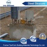 Estrutura de aço de aço do Prédio de Armazenagem Prefab para Fazenda usado