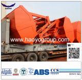 Commande à distance hydraulique Grab pour les marchandises en vrac pour grue de pont